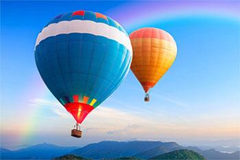 自制热气球步骤图片
