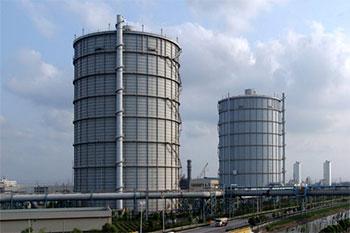 干式煤气柜原理及结构图