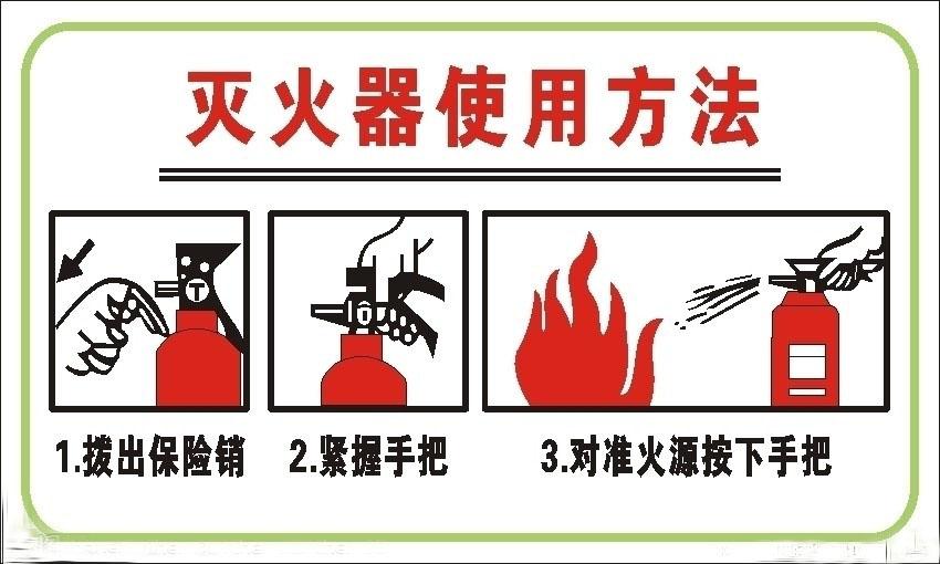 消防器材有哪些,怎么正确的使用