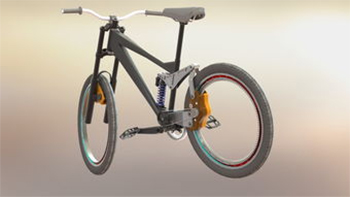 无链条自行车原理,它的优缺点是什么图片
