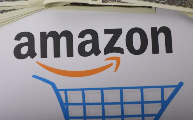 亚马逊股价下跌 市值落后美国近1200亿美元